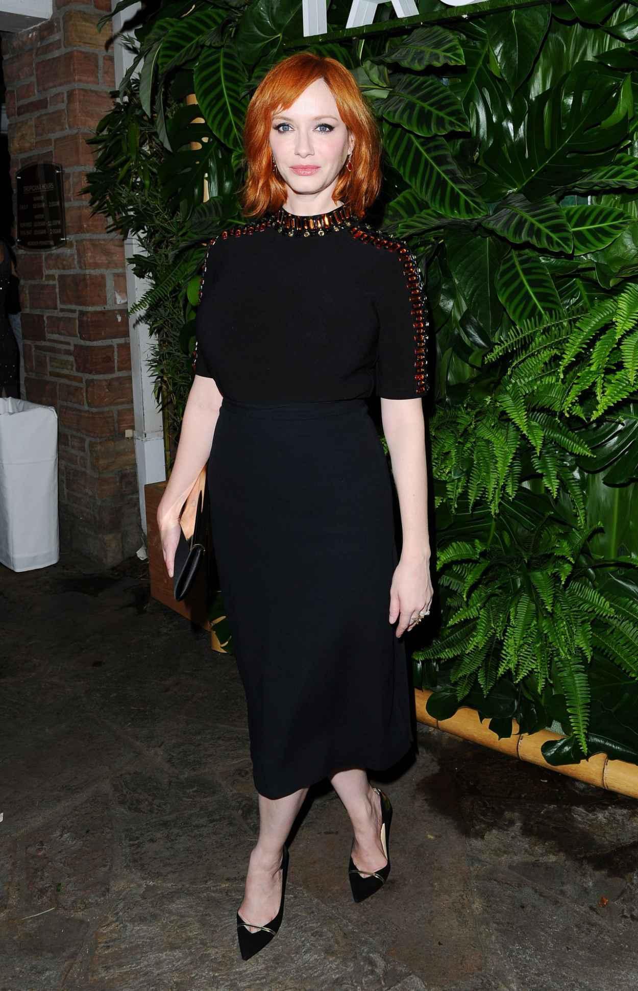 Christina Hendricks - Tacori Presents Riviera Event at the Roosevelt Hotel in Hollywood-4
