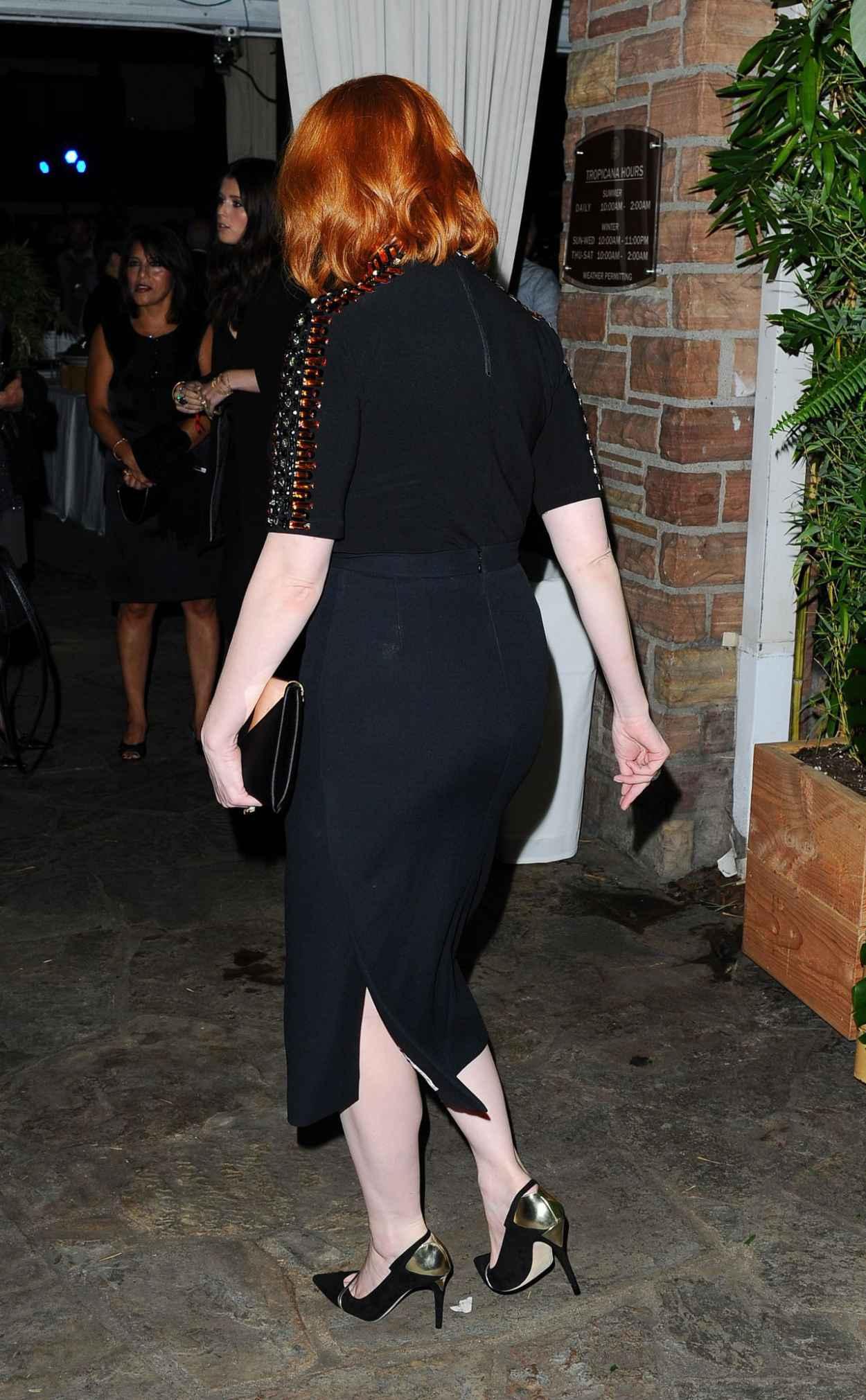 Christina Hendricks - Tacori Presents Riviera Event at the Roosevelt Hotel in Hollywood-5