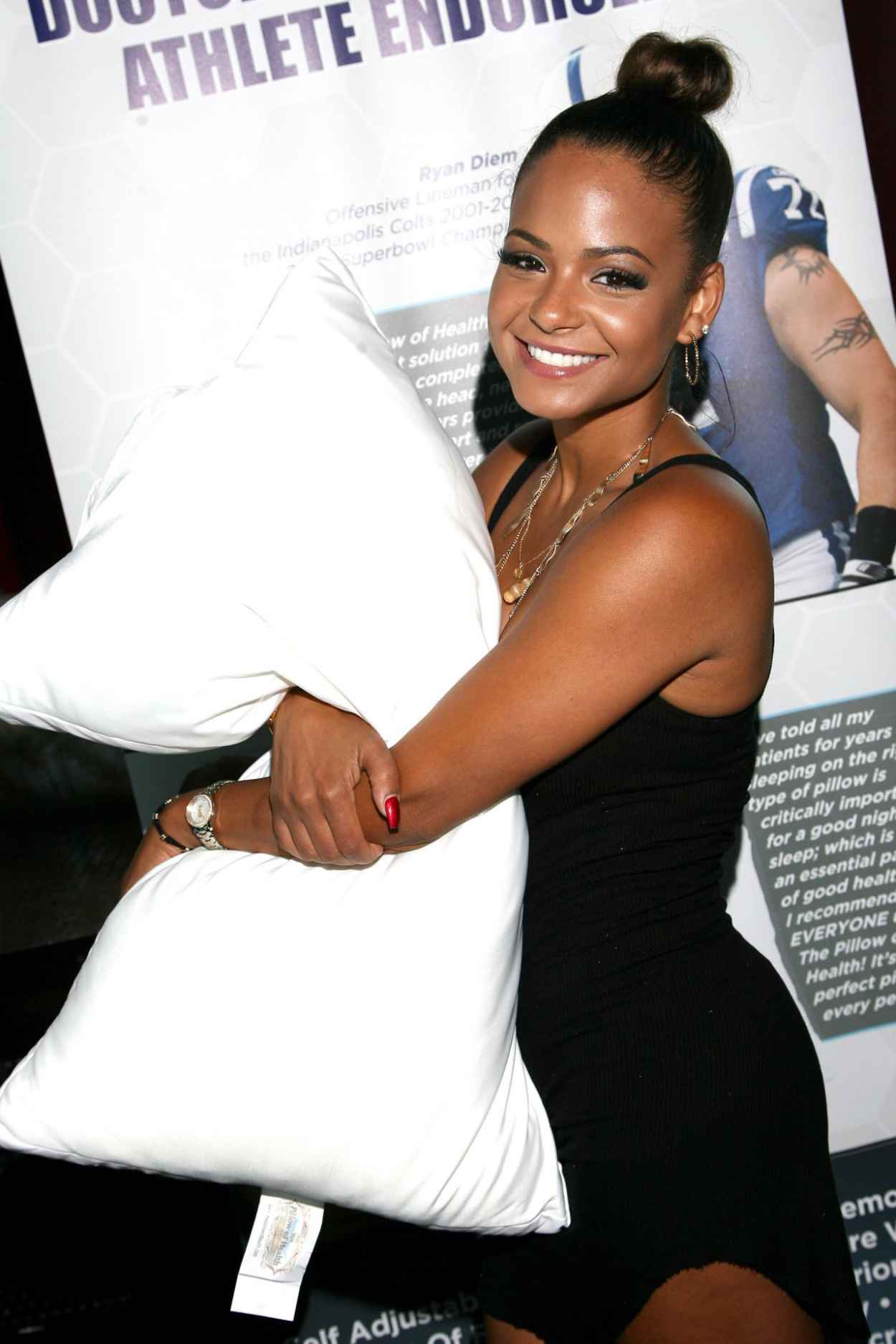 Christina Milian Attends the GBK Luxury Sports Lounge in Hollywood - July 2015-1