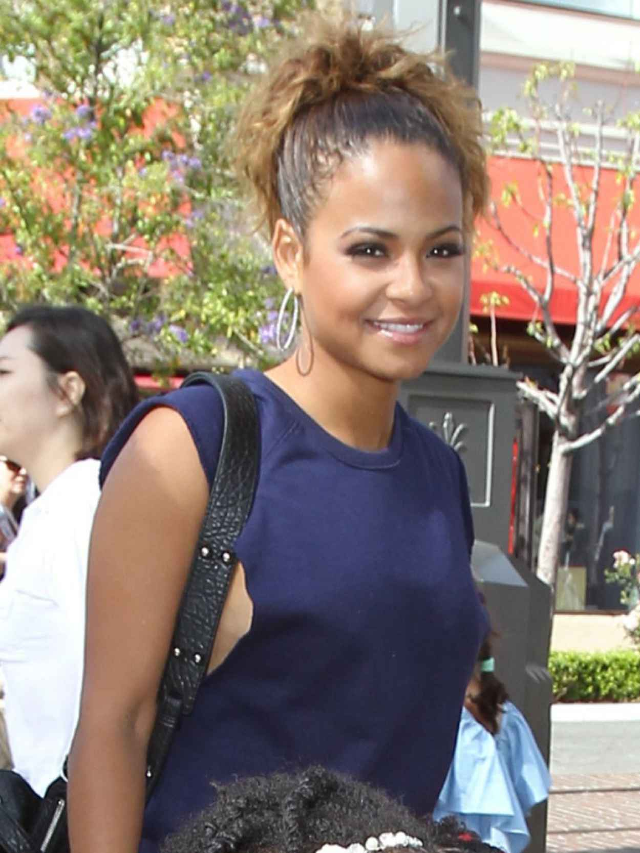 Christina Milian Street Style - Out Shopping in LA - May 2015-1
