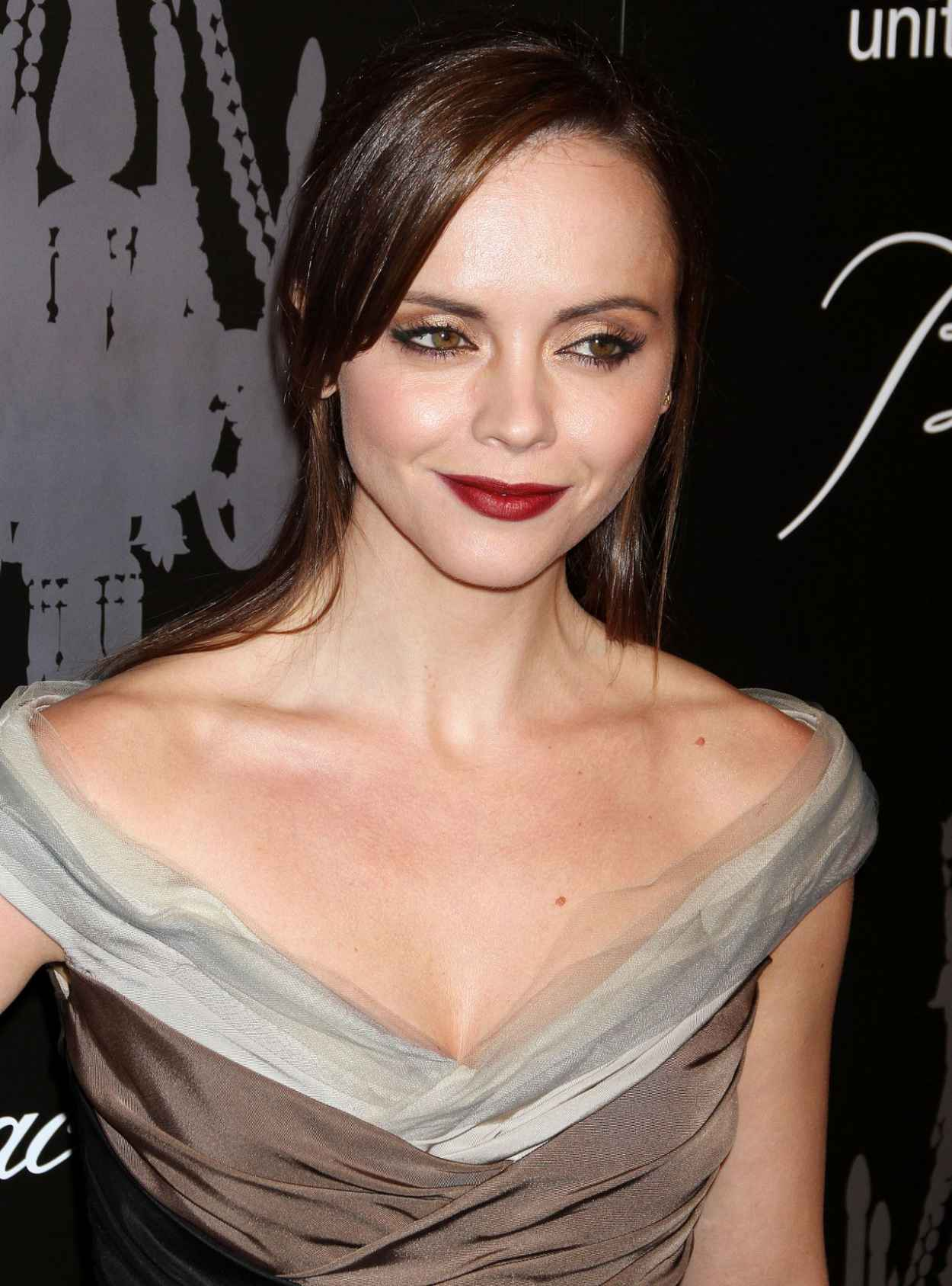 Christina Ricci Attends The 9th Annual UNICEF Snowflake Ball in New York City-1