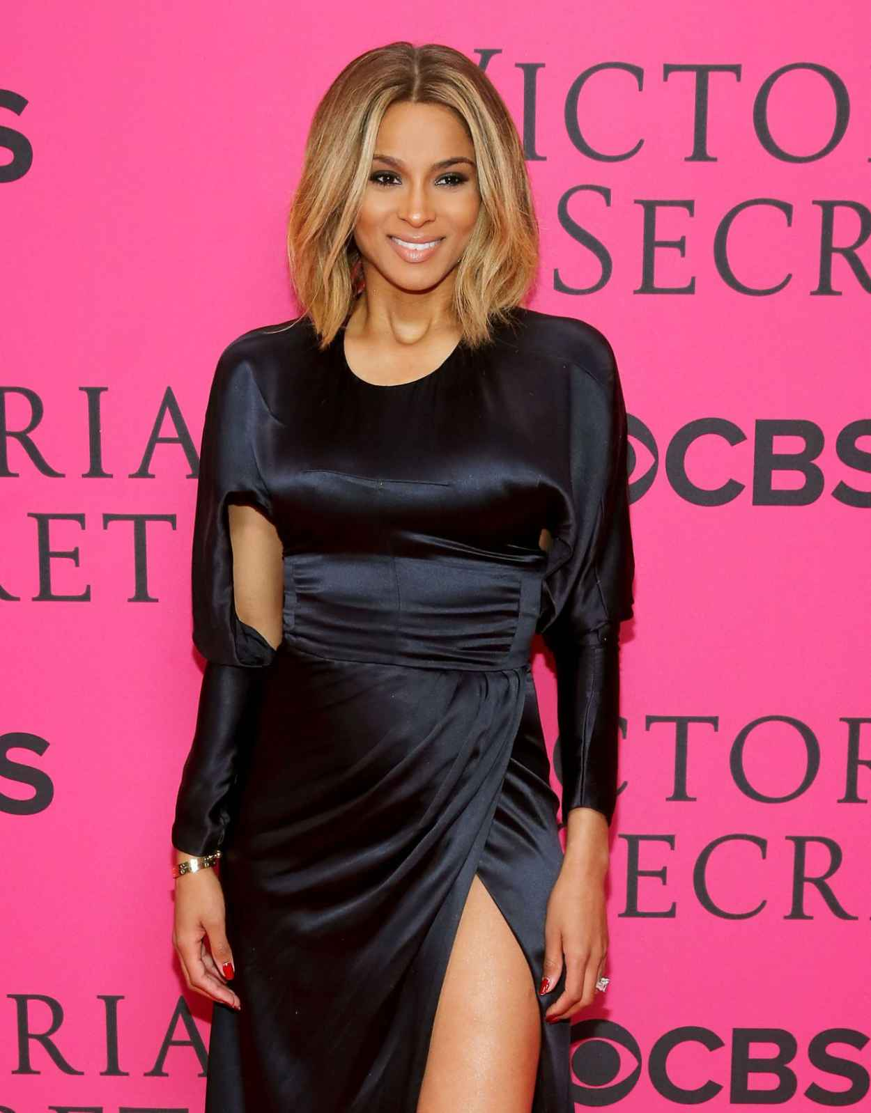 Ciara on Red Carpet - 2015 Victorias Secret Fashion Show in NYC-1