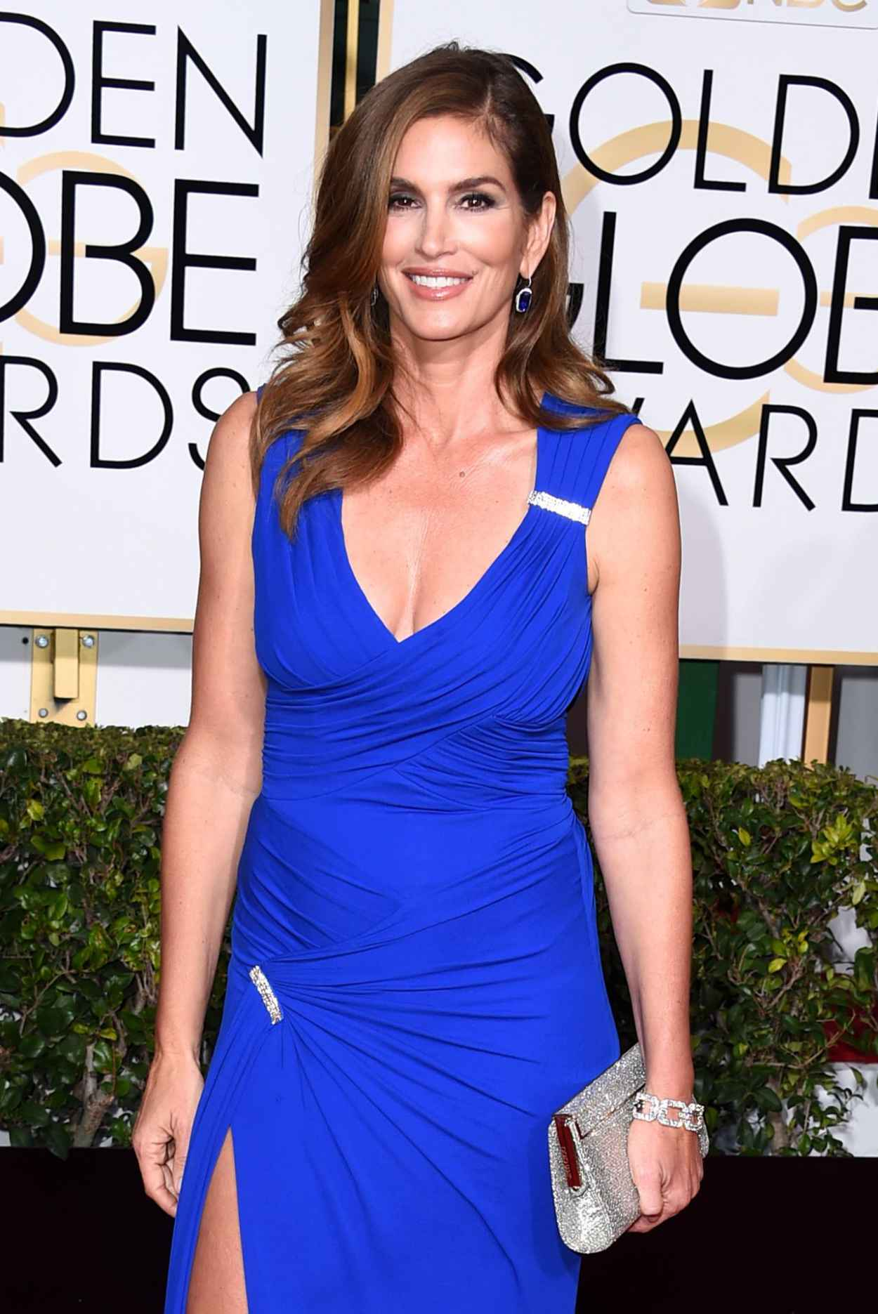 Cindy Crawford - 2015 Golden Globe Awards in Beverly Hills-1