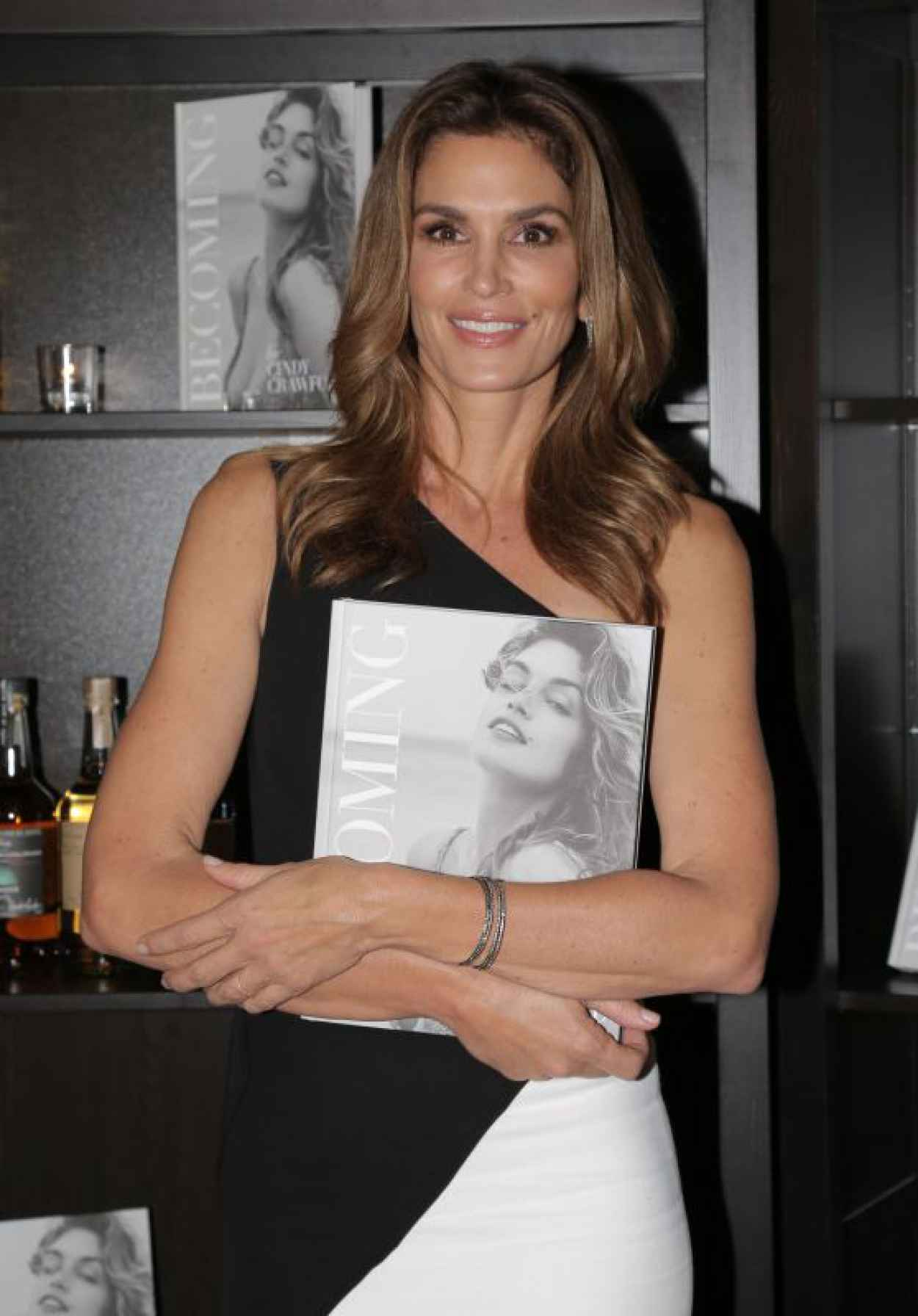 Cindy Crawford - at Her Becoming Book Launch in London, October 2015-1
