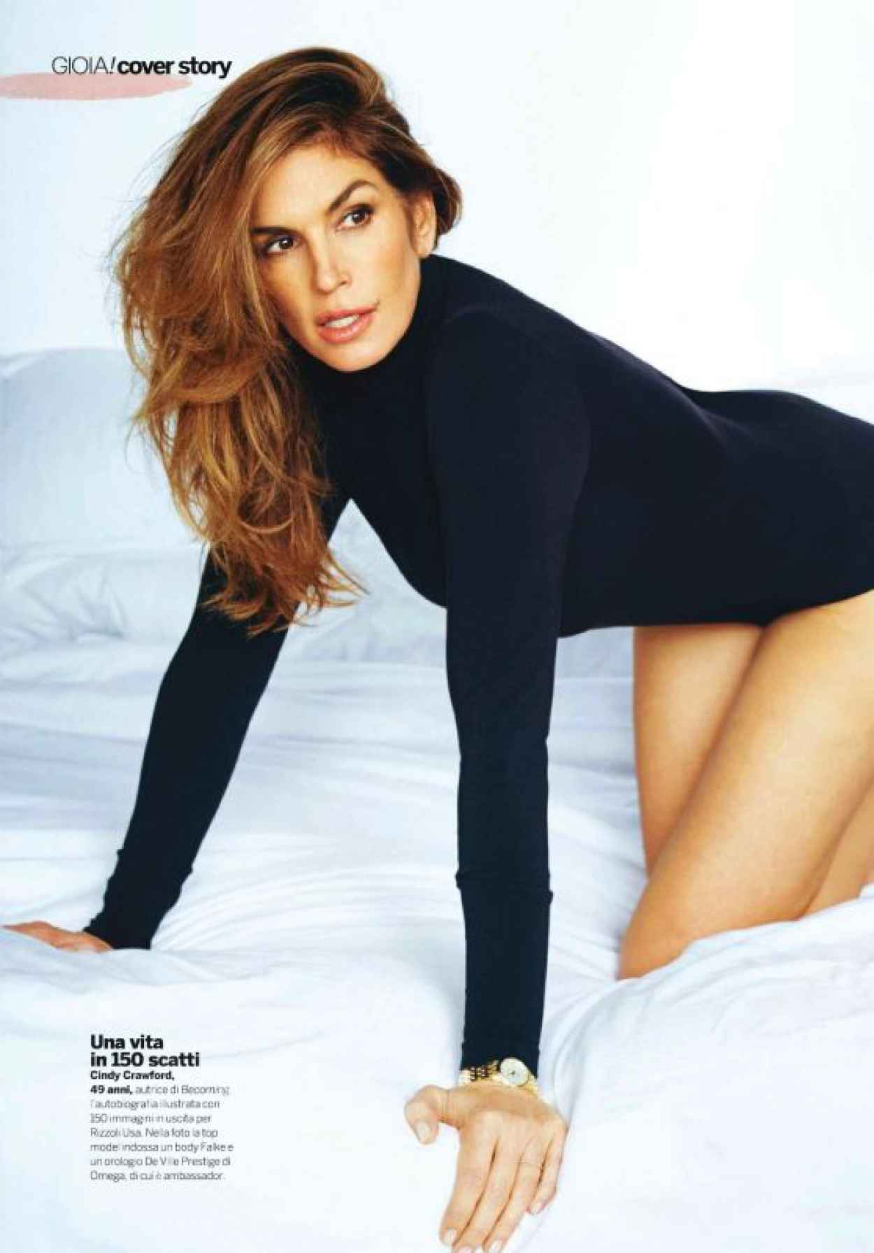 Cindy Crawford - Gioia Magazine October 2015-1