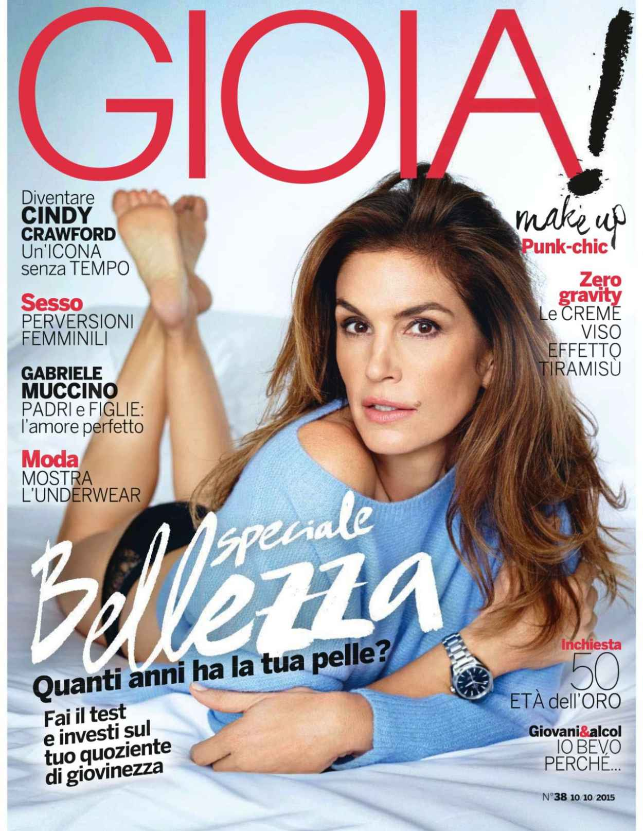 Cindy Crawford - Gioia Magazine October 2015-2