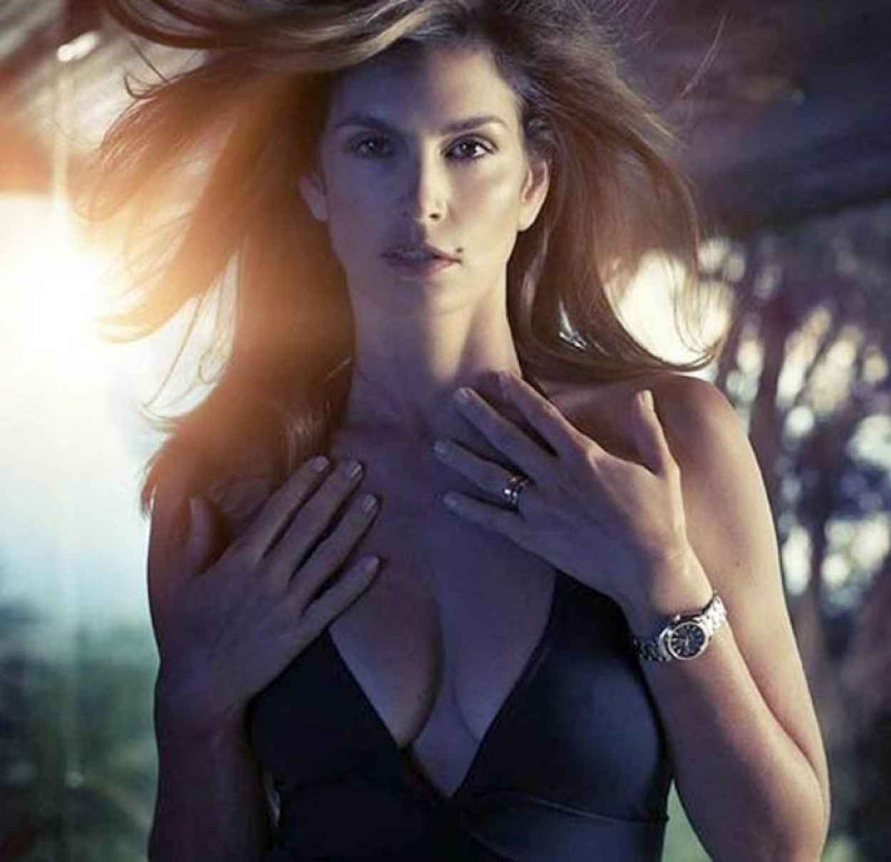 Cindy Crawford - Omega Watch Campaign Spring/Summer 2015-1