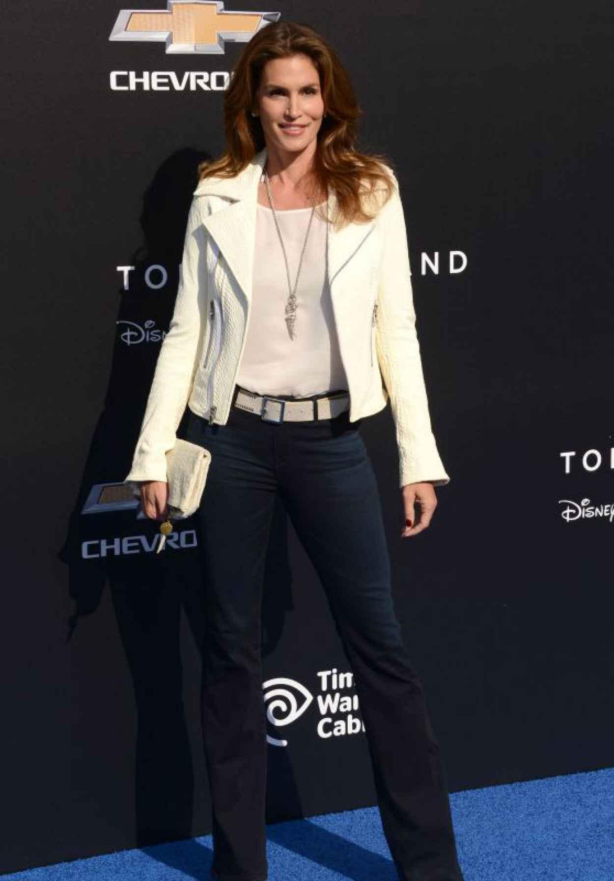 Cindy Crawford - Tomorrowland Premiere in Anaheim-1