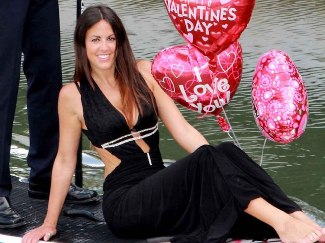 Claudia Romani - Valentine-s Paddleboard Photoshoot - Miami Beach. February 2015-1