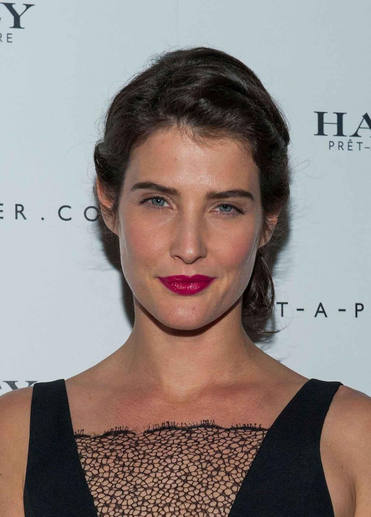 Cobie Smulders at Net-A-Porter Hosts Haney Pret-A-Couture Launch-1
