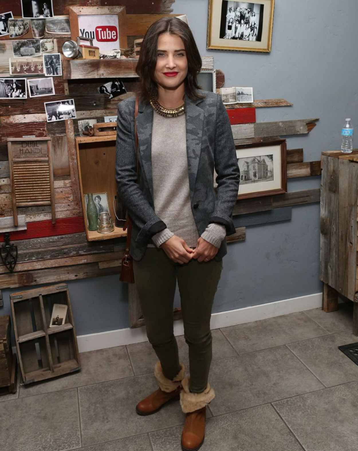 Cobie Smulders at YouTube Event for THEY CAME TOGETHER Premiere - Sundance Film Festival 2015-1