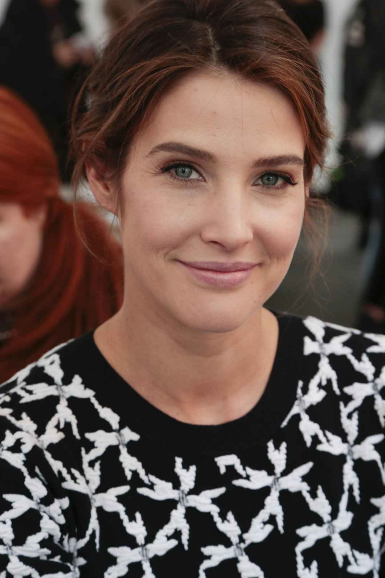 Cobie Smulders At The Tanya Taylor Fashion Show New York