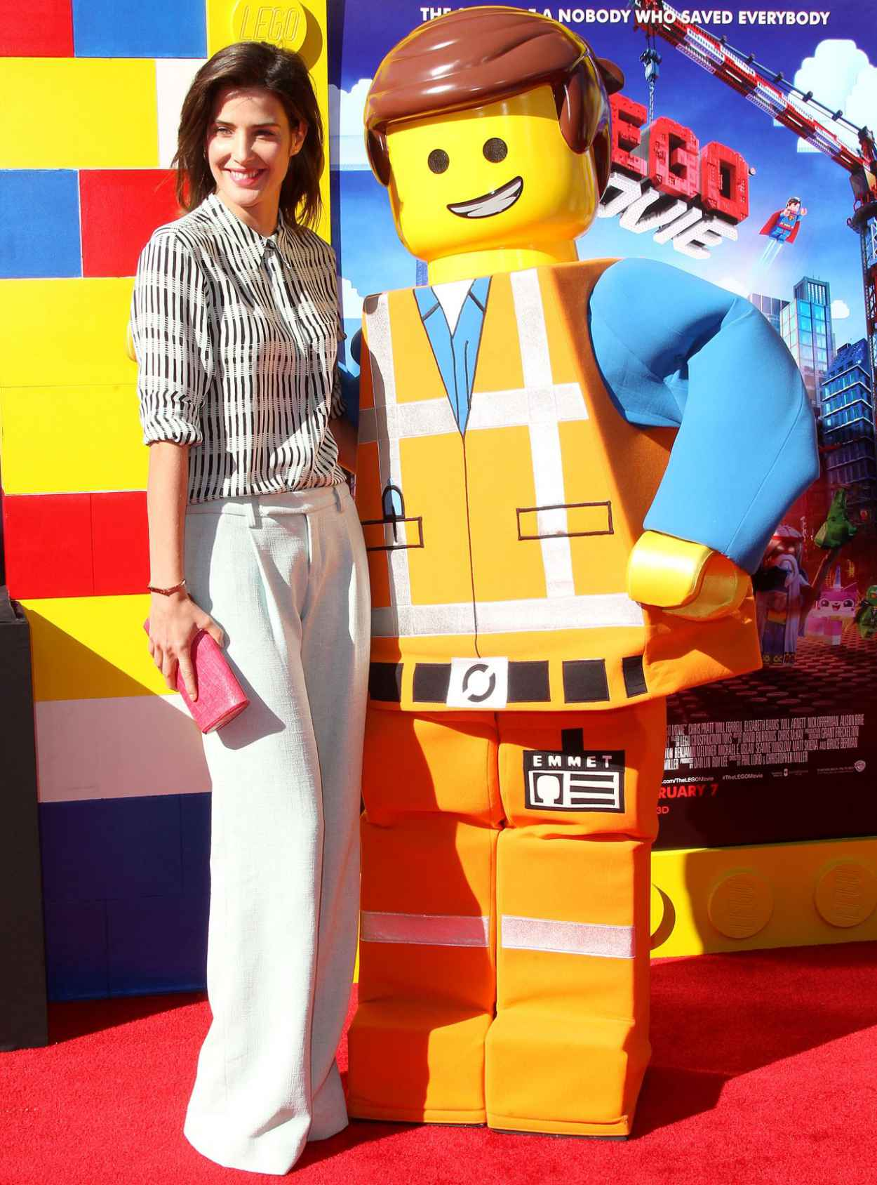 Cobie Smulders - THE LEGO MOVIE Premiere in Los Angeles-1