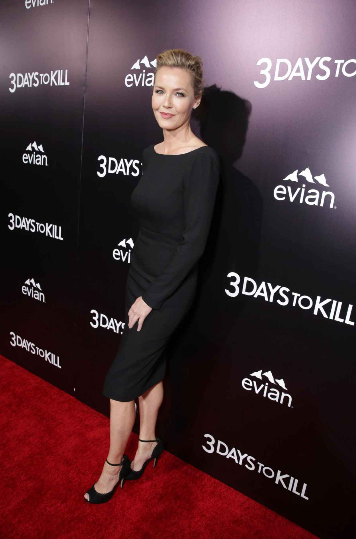 Connie Nielsen - 3 Days To Kill Red Carpet in Los Angeles-1