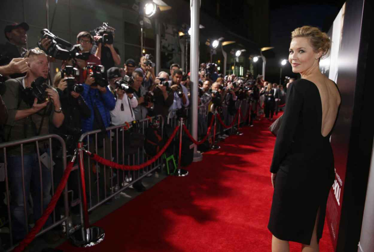 Connie Nielsen - 3 Days To Kill Red Carpet in Los Angeles-5