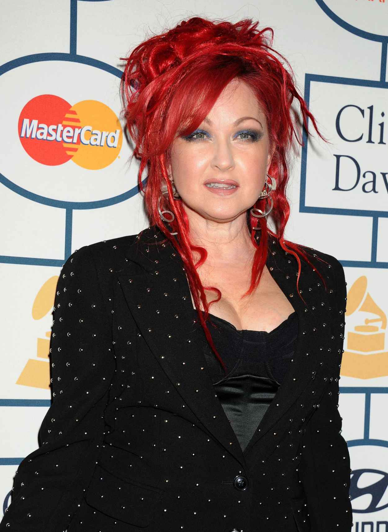 Cyndi Lauper at Pre-GRAMMY Gala in Los Angeles, January 2015-1