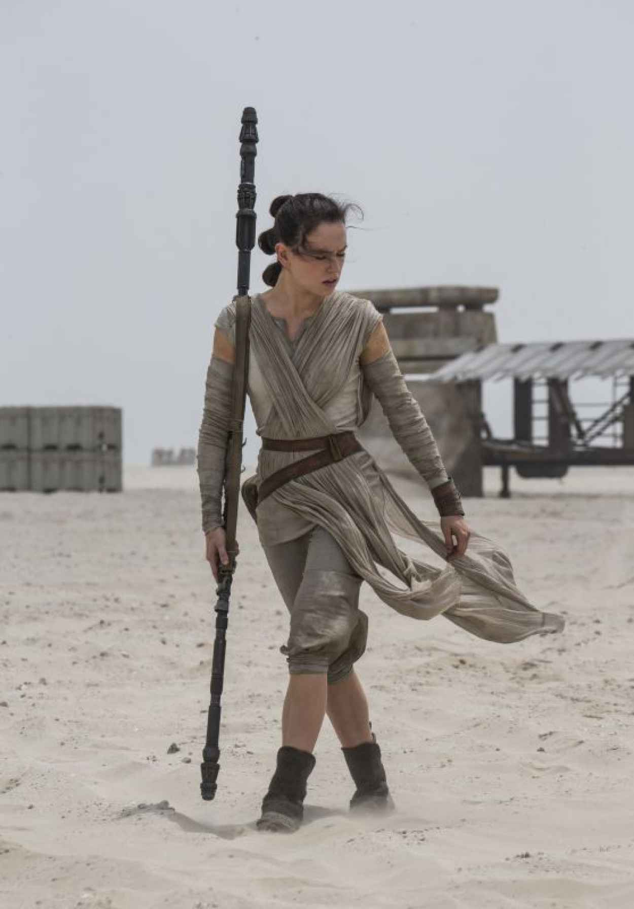 Daisy Ridley - Star Wars: The Force Awakens Poster and Photos (2015)-1