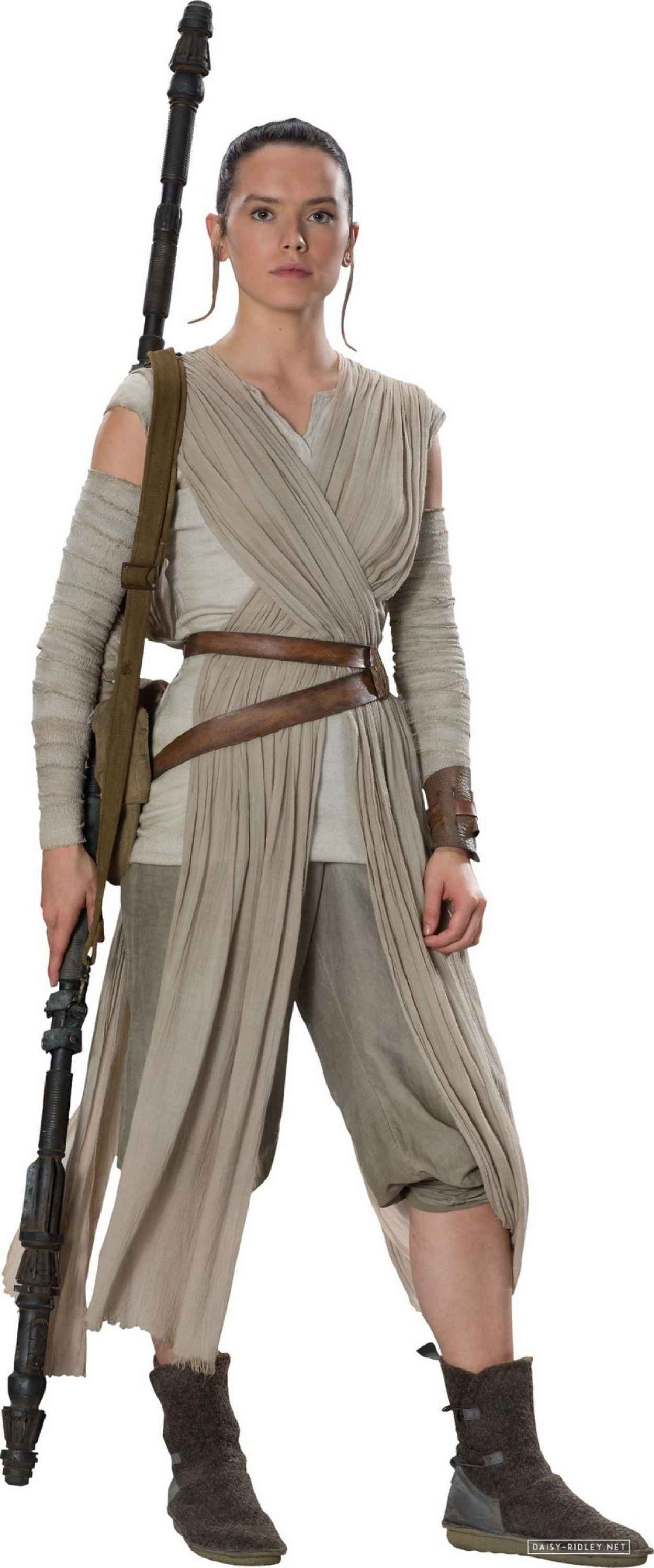 Daisy Ridley - Star Wars: The Force Awakens Poster and Photos (2015)-2