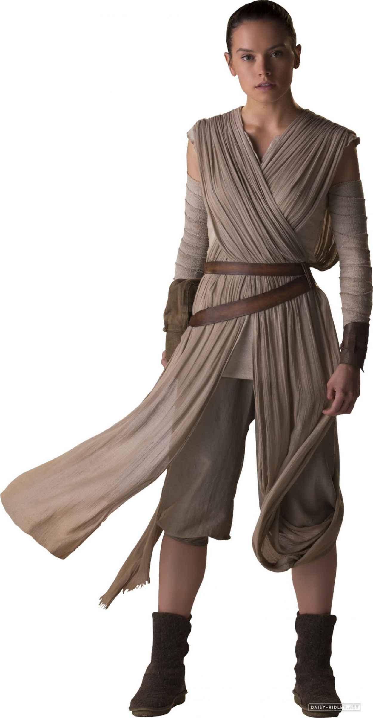 Daisy Ridley - Star Wars: The Force Awakens Poster and Photos (2015)-3