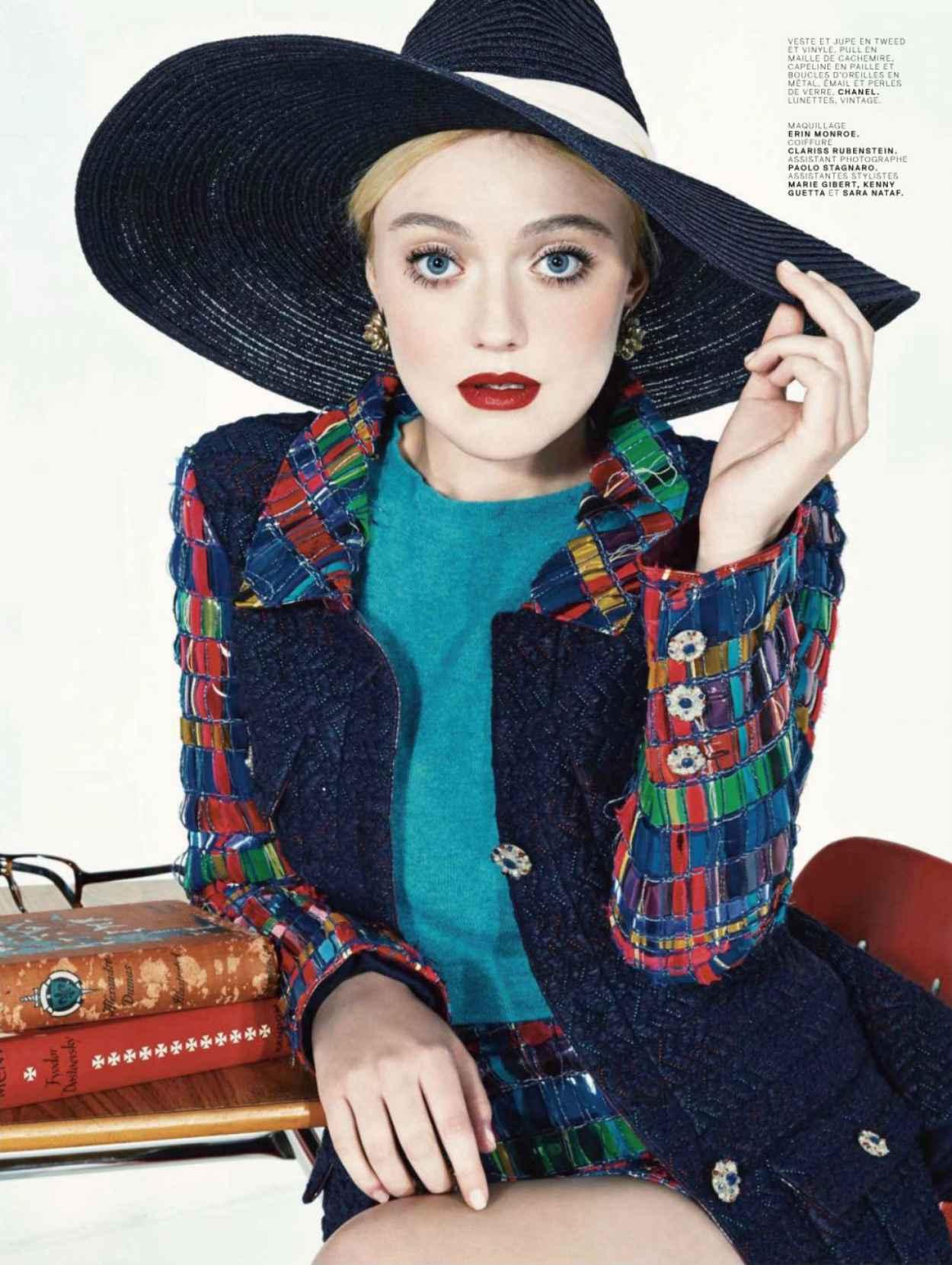 Dakota Fanning - Jalouse Magazine - March 2015 Issue-1