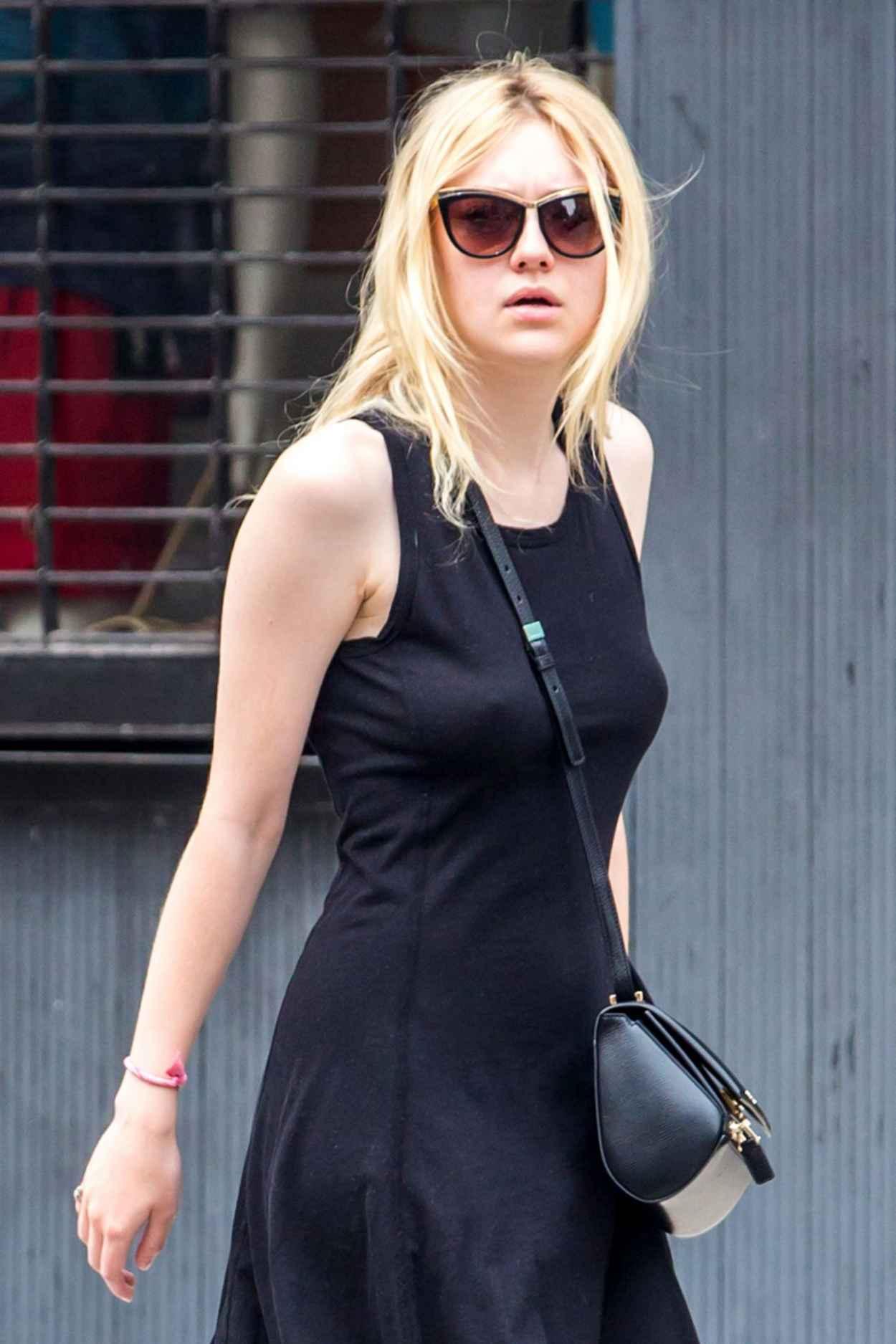 Dakota Fanning - Out in NYC, July 2015-1
