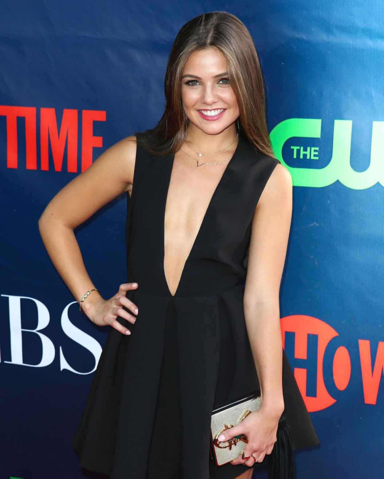 Danielle Campbell Cbs 2015 Tca Summer Press Tour Party