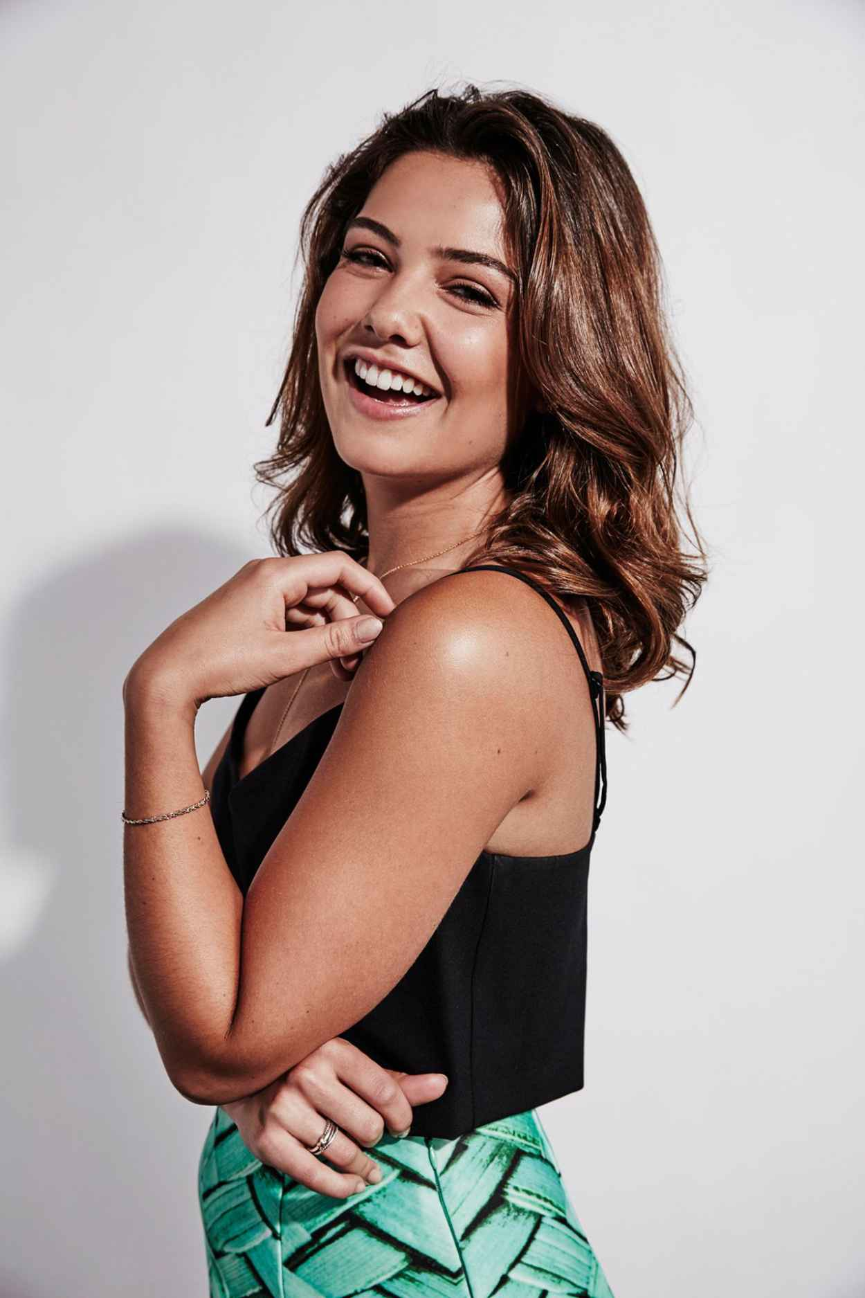 Danielle Campbell The Originals Photoshoot At Comic Con