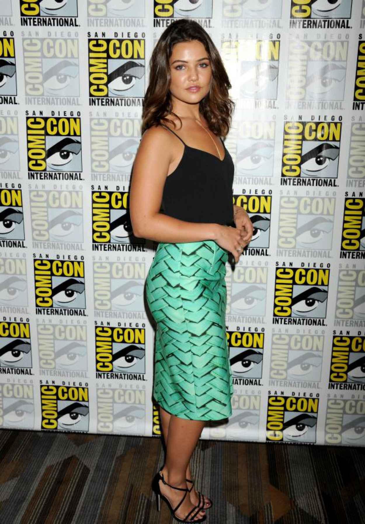 Danielle Campbell - The Originals Press Line - 2015 Comic Con in San Diego, July 2015-1