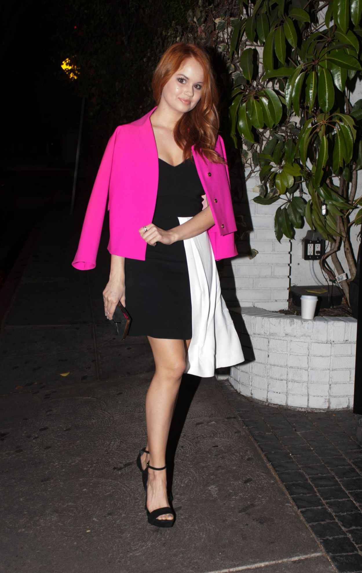 Debby Ryan Night Out Style - Leaving Chateau Marmont Restaurant in West Hollywood - Jan. 2015-1