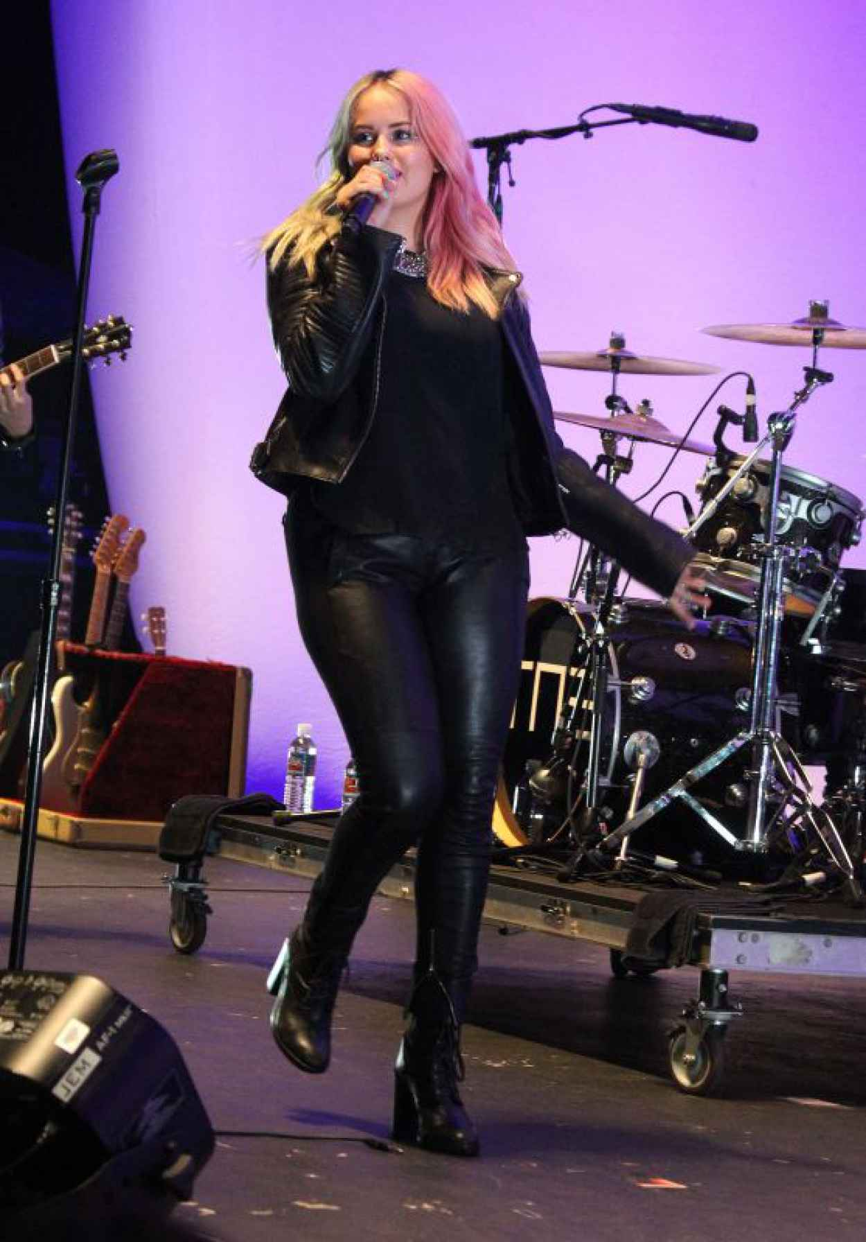 Debby Ryan - Performing at the Orange County Fair in Cosa Mesa, August 2015-1