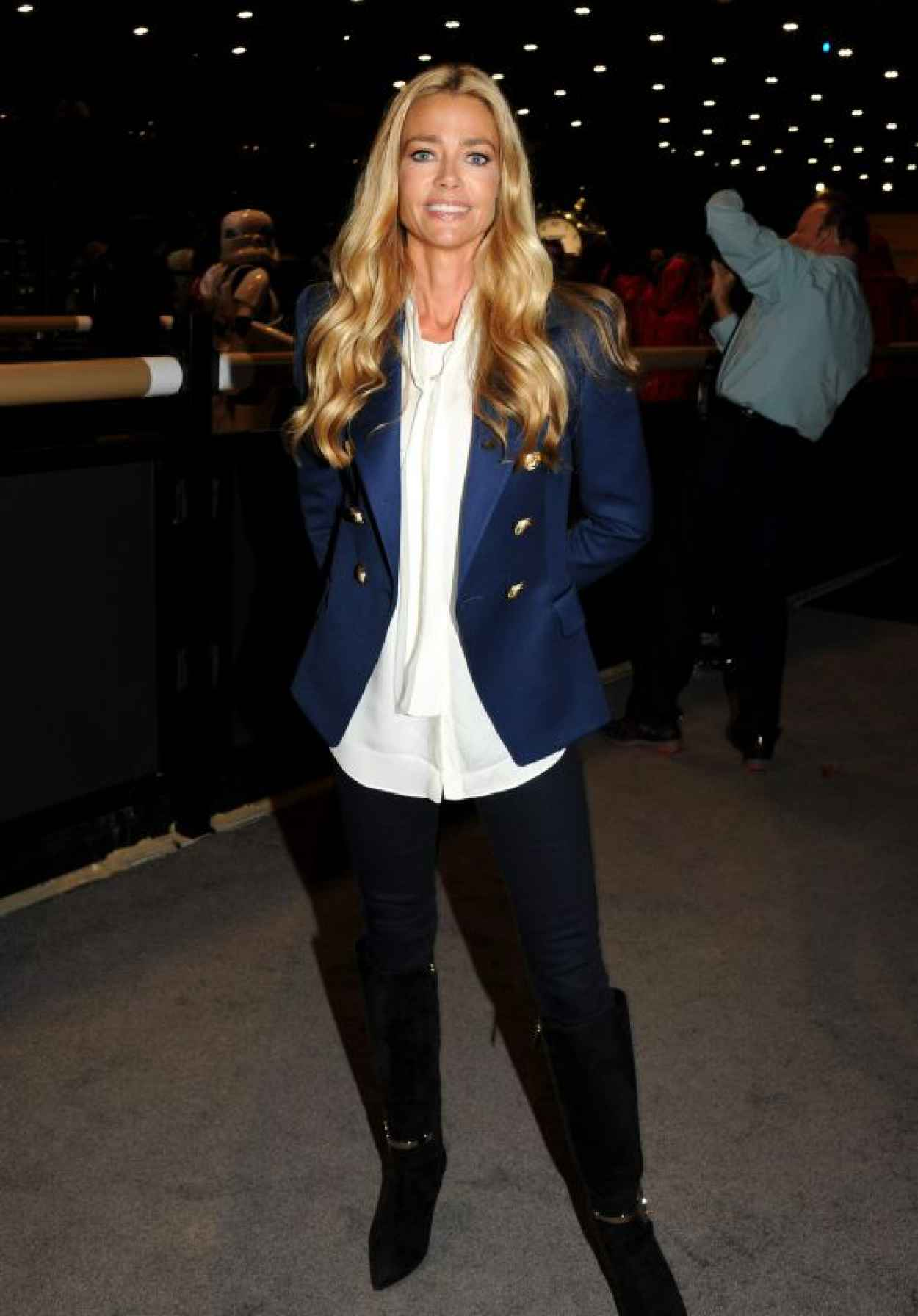 Denise Richards - Longines Masters of Los Angeles, October 2015-1