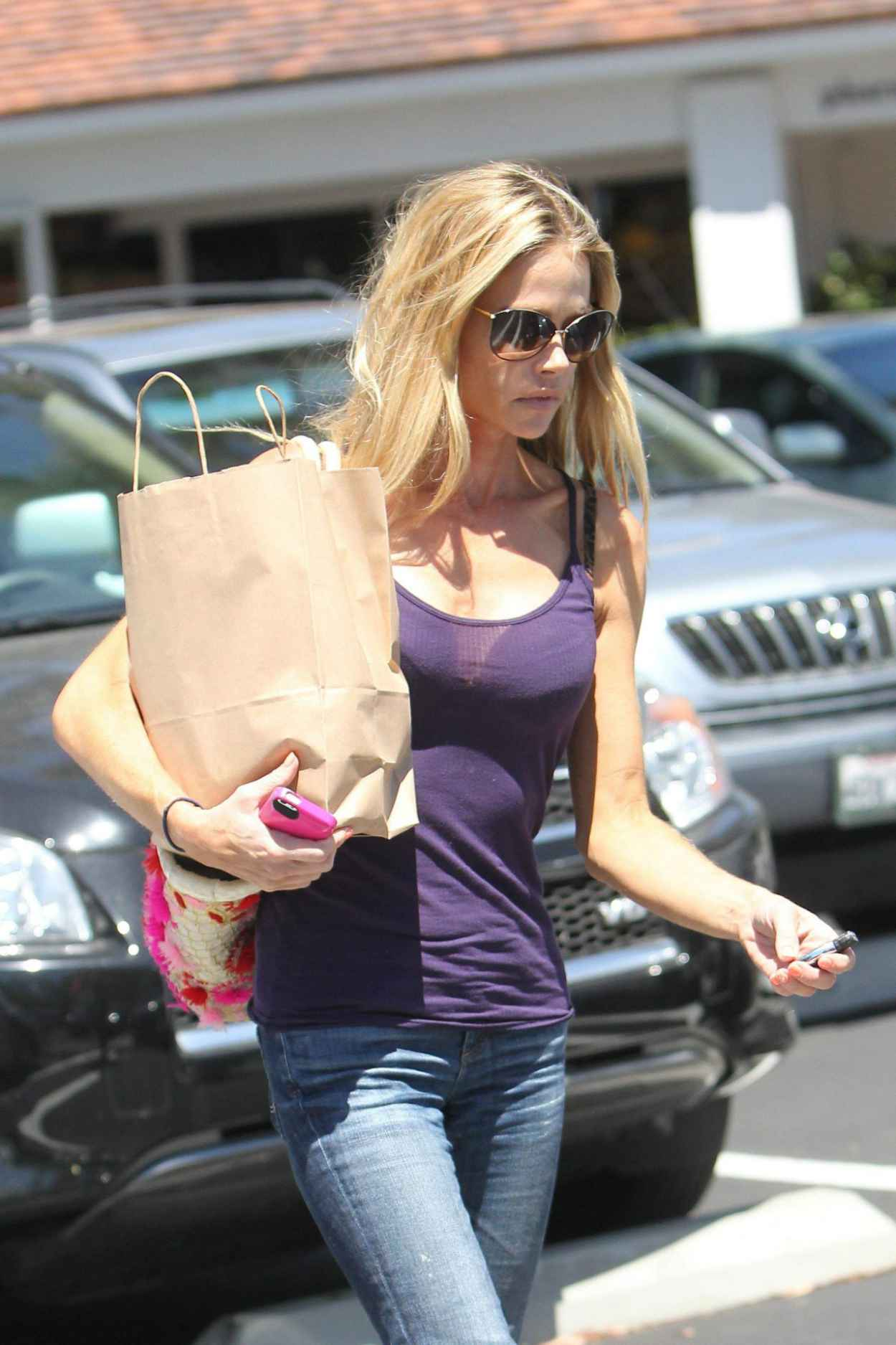 Denise Richards Shopping with a Friend in Los Angeles - August 2015-1