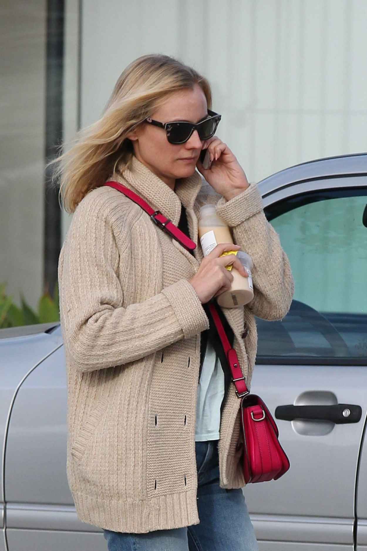 Diane Kruger in Ripped Jeans - Leaving Andy LeCompte Hair Salon in West Hollywood-1