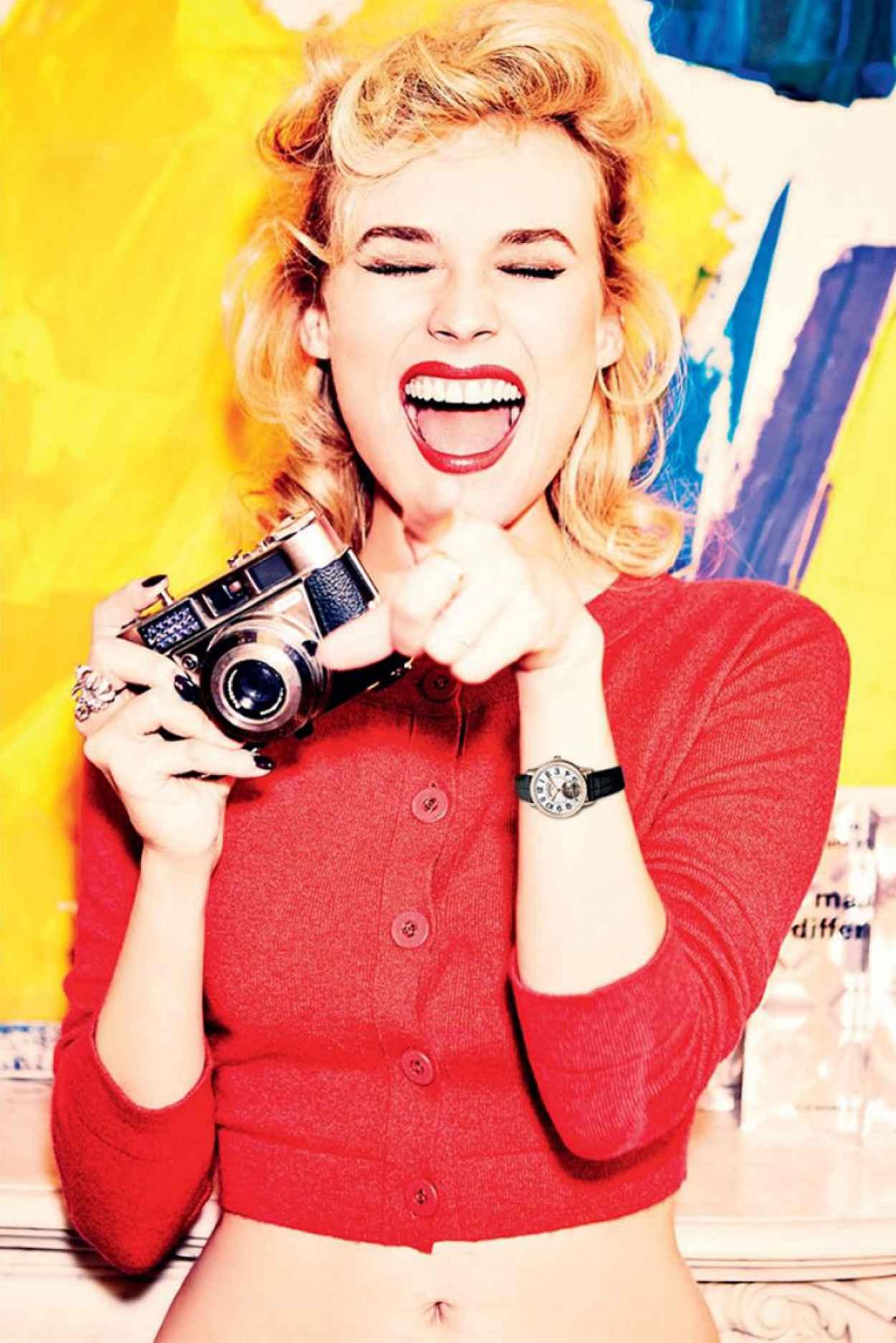 Diane Kruger - Photoshoot for Tatler Russia April 2015 (by Ellen von Unwerth)-1
