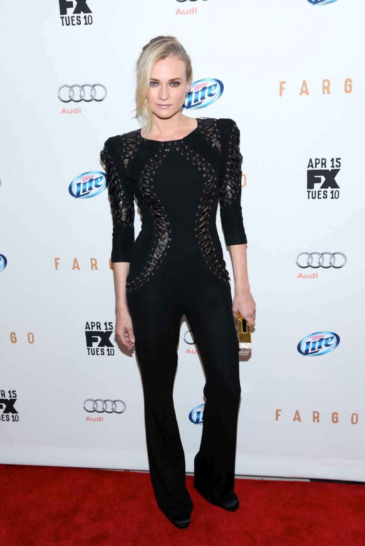 Diane Kruger Wearing Zuhair Murad at FX Networks Upfront Screening of Fargo in New York City-1
