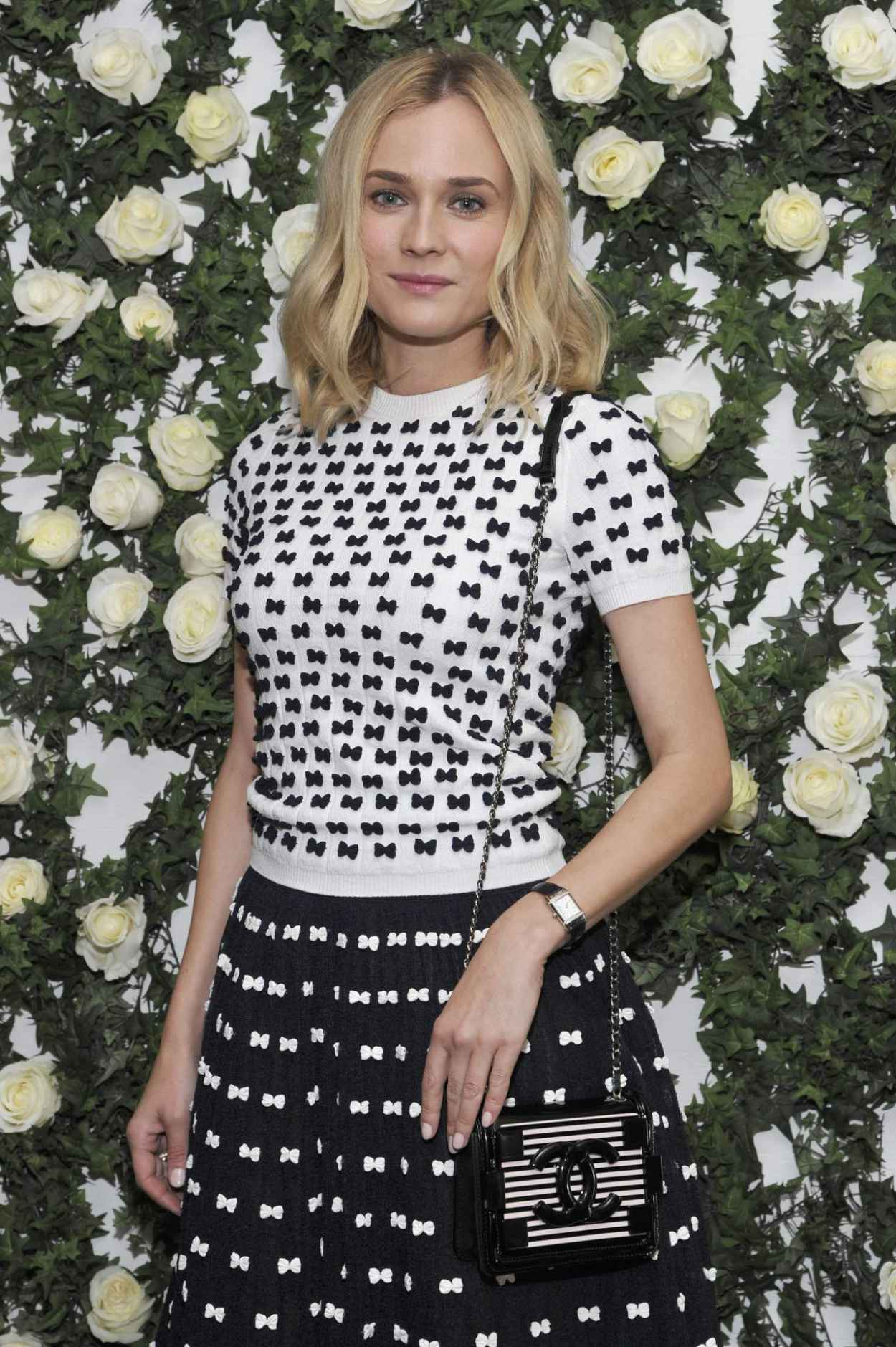 Diane Kruger Wears Chanel at W Magazine-s Golden Globes Luncheon - January 2015-1