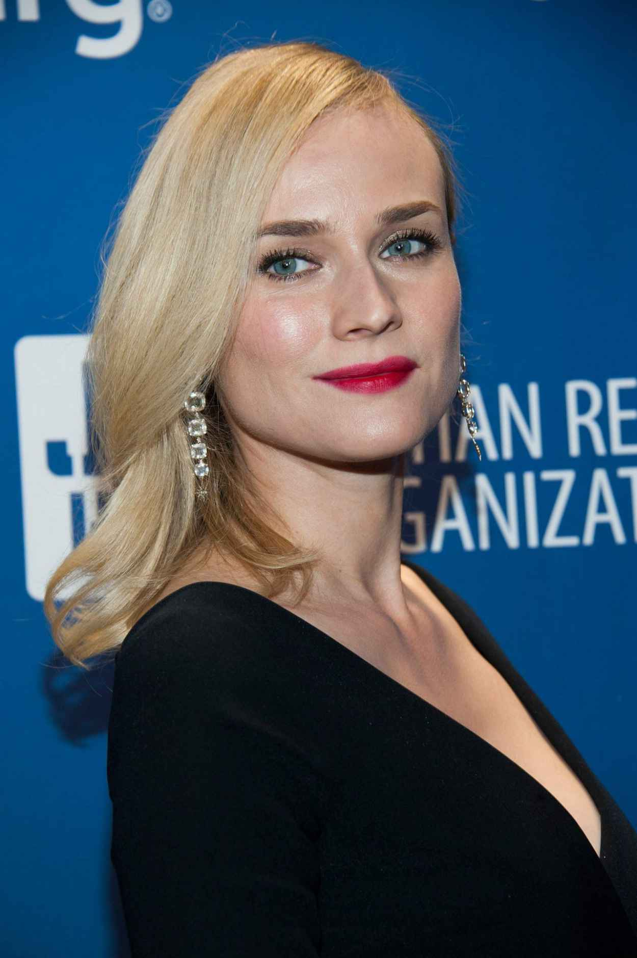 Diane Kruger Wears Preen at Sean Penn & Friends Help Haiti Home Gala, January 2015-1