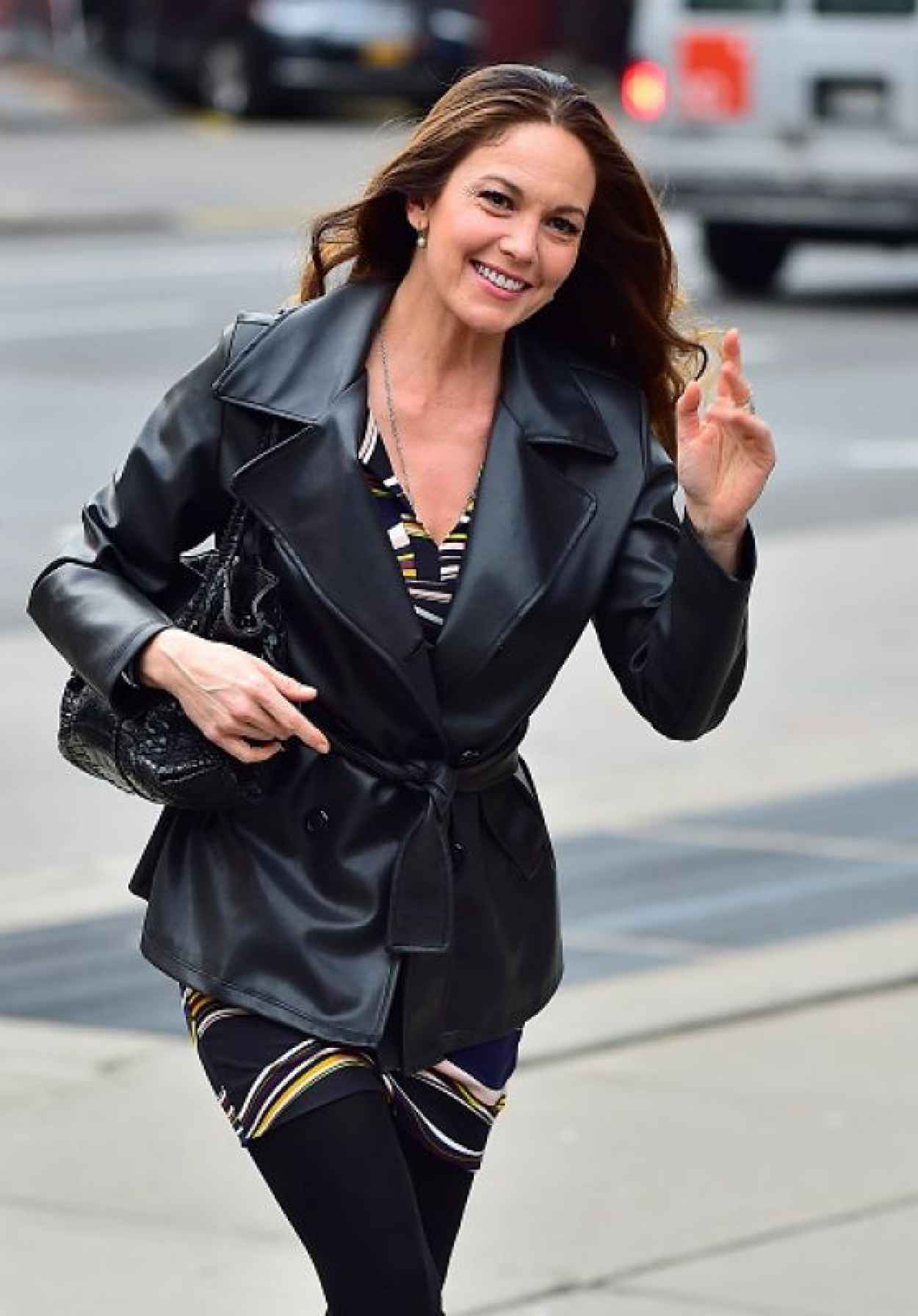 Diane Lane - Out in New York City, April 2015-1