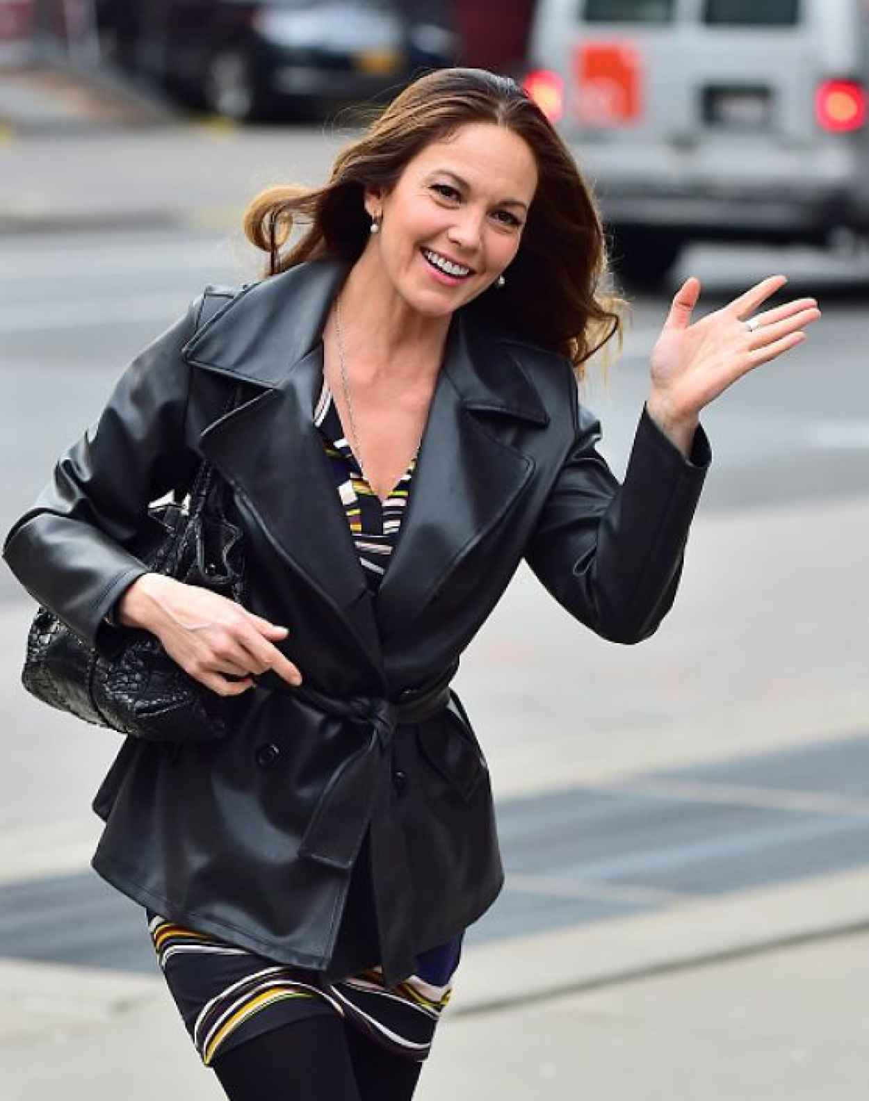 Diane Lane - Out in New York City, April 2015-4