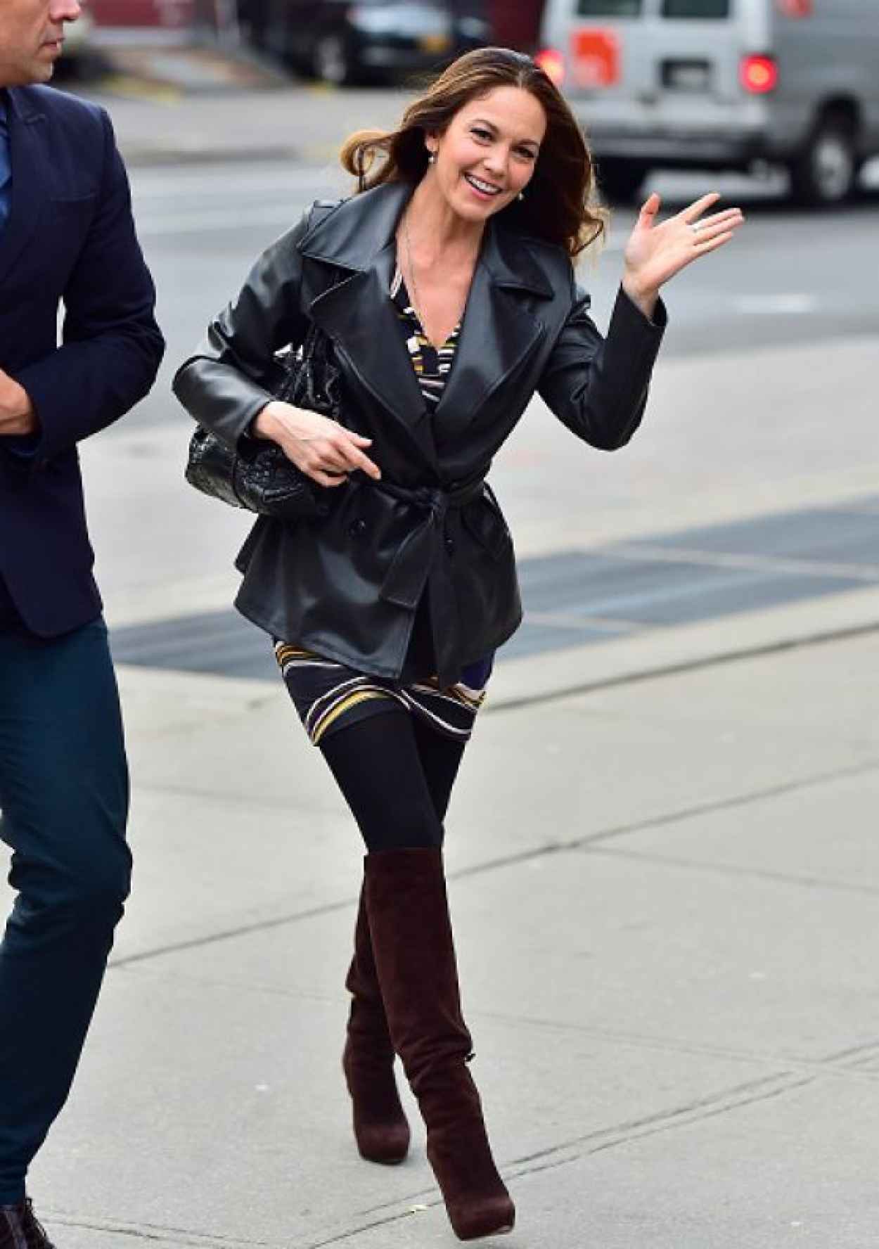Diane Lane - Out in New York City, April 2015-5