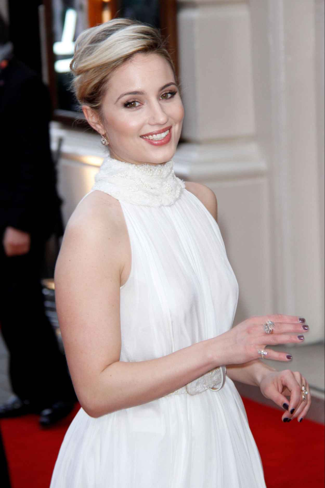 Dianna Agron - 2015 Olivier Awards in London-4