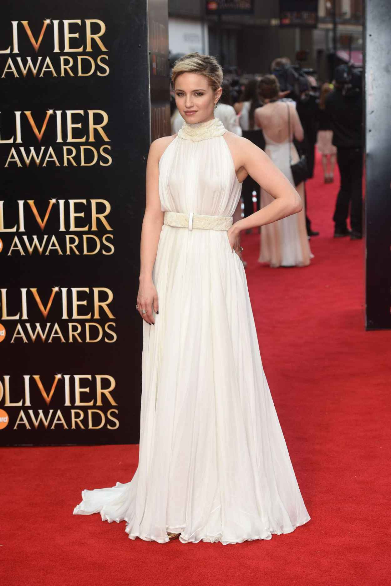 Dianna Agron - 2015 Olivier Awards in London-5