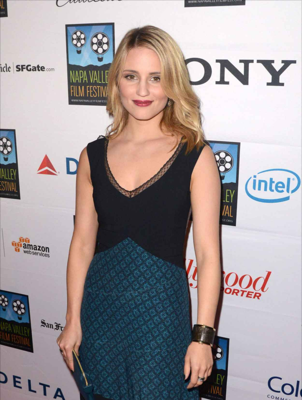 Dianna Agron at Napa Valley Film Festival Celebrity Tribute-1