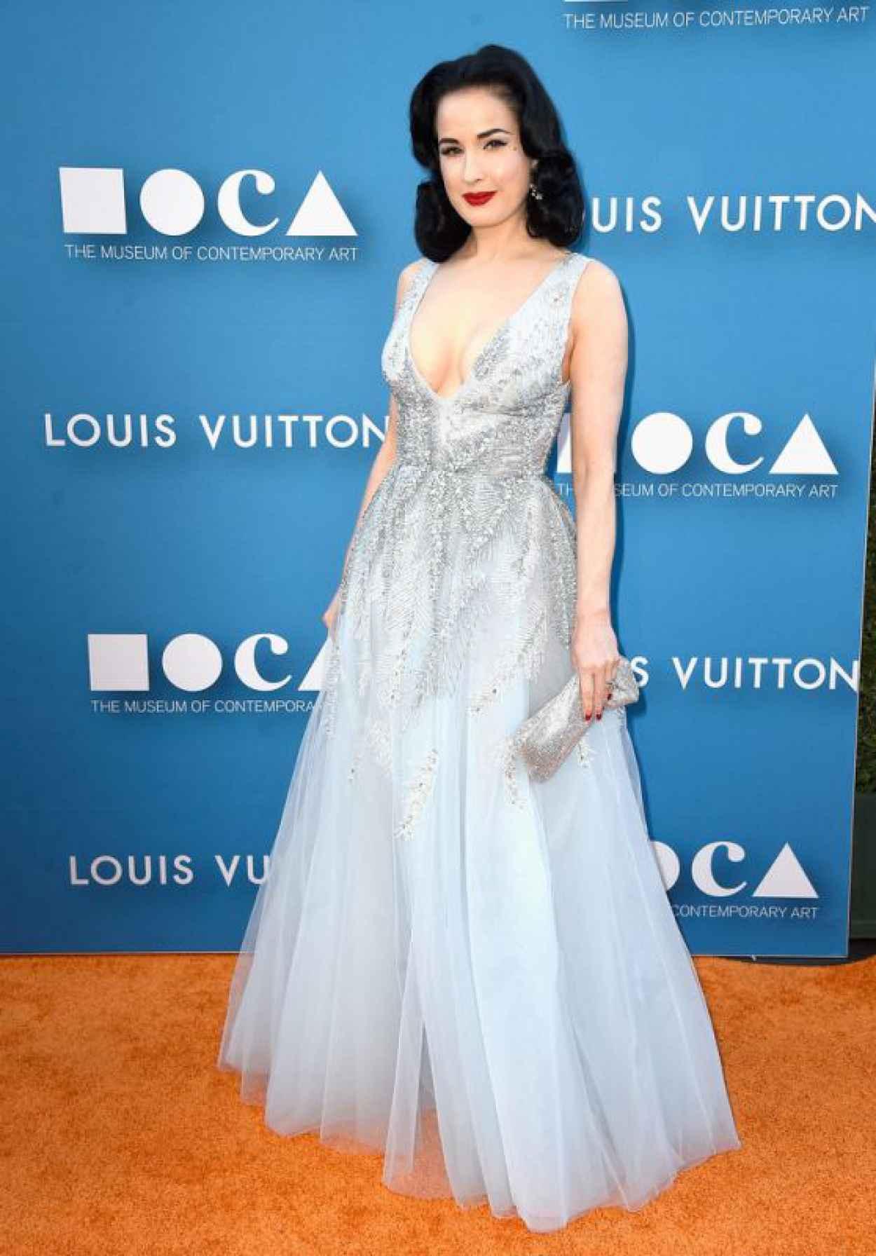 Dita Von Teese - 2015 MOCA Gala in Los Angeles-1
