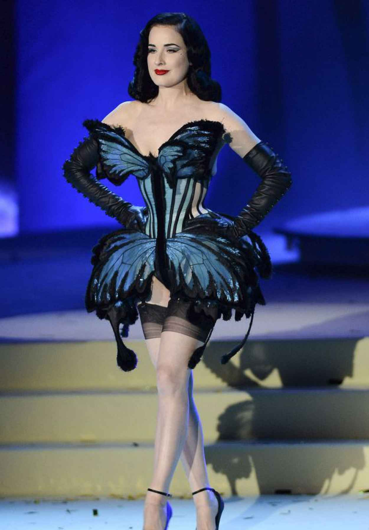 Dita von Teese - Life Ball 2015 Weekend at City Hall in Vienna-1