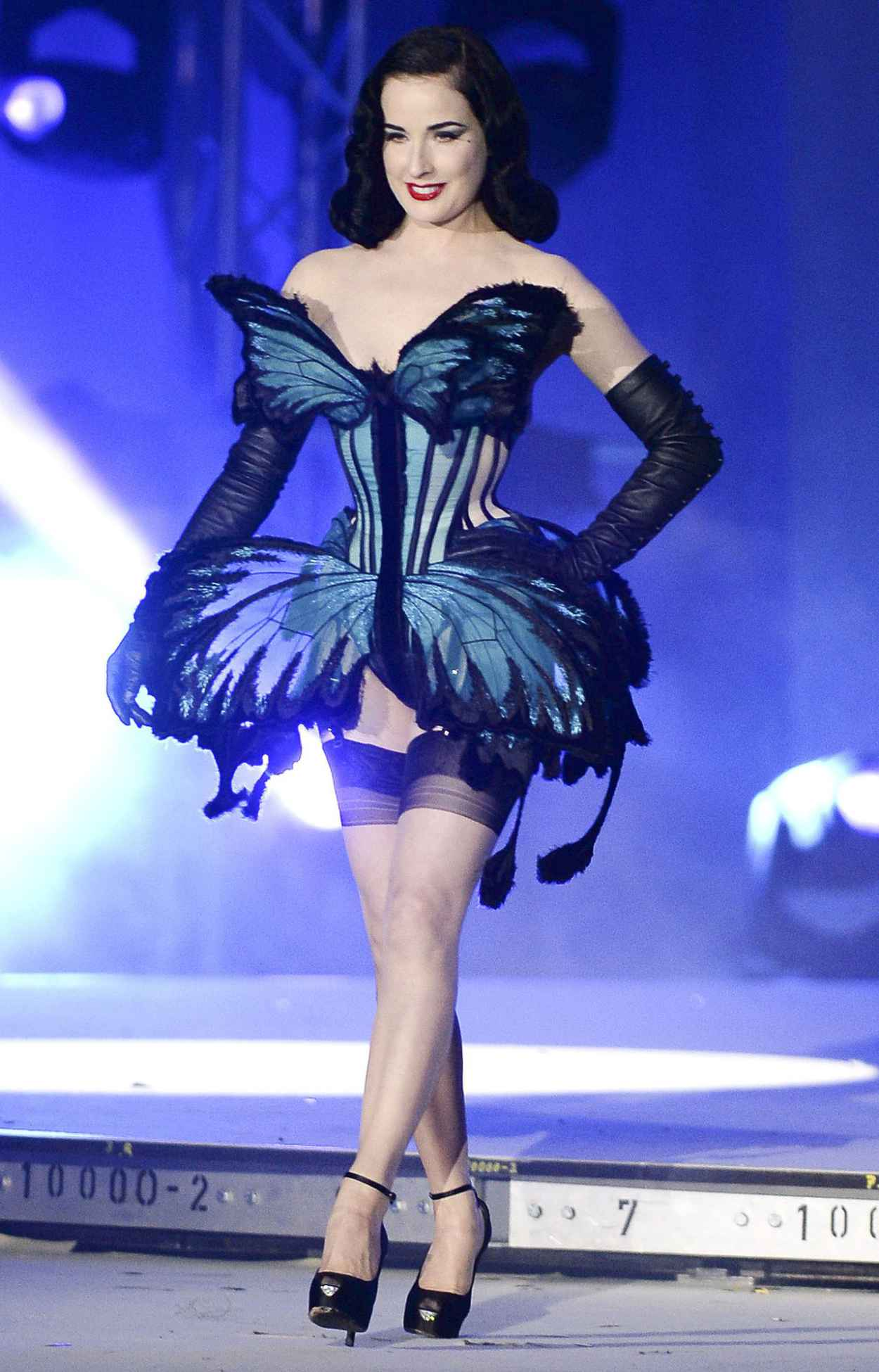 Dita von Teese - Life Ball 2015 Weekend at City Hall in Vienna-3