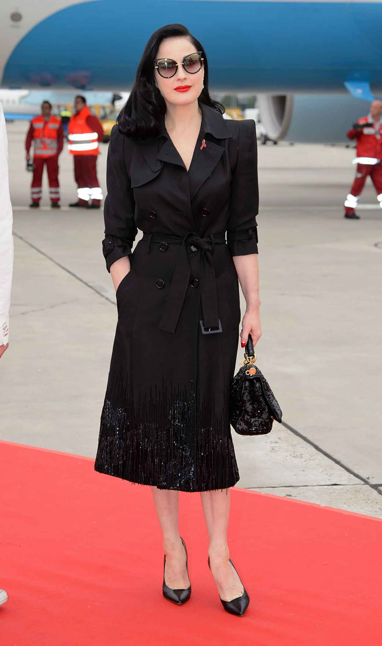 Dita von Teese - Life Ball 2015 Weekend at City Hall in Vienna-4