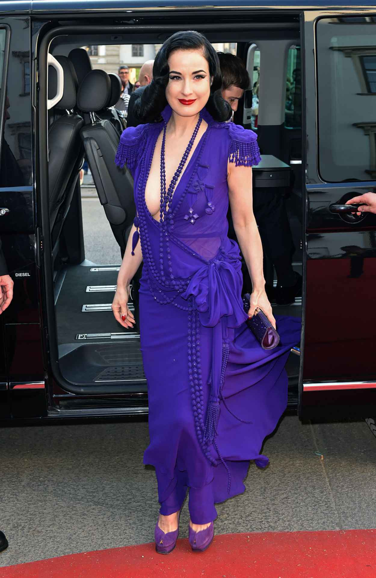 Dita von Teese - Life Ball 2015 Weekend at City Hall in Vienna-5