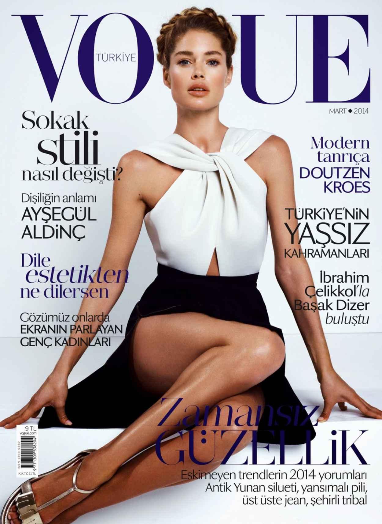 Doutzen Kroes - Vogue Magazine (Turkey) - March 2015 Issue-1