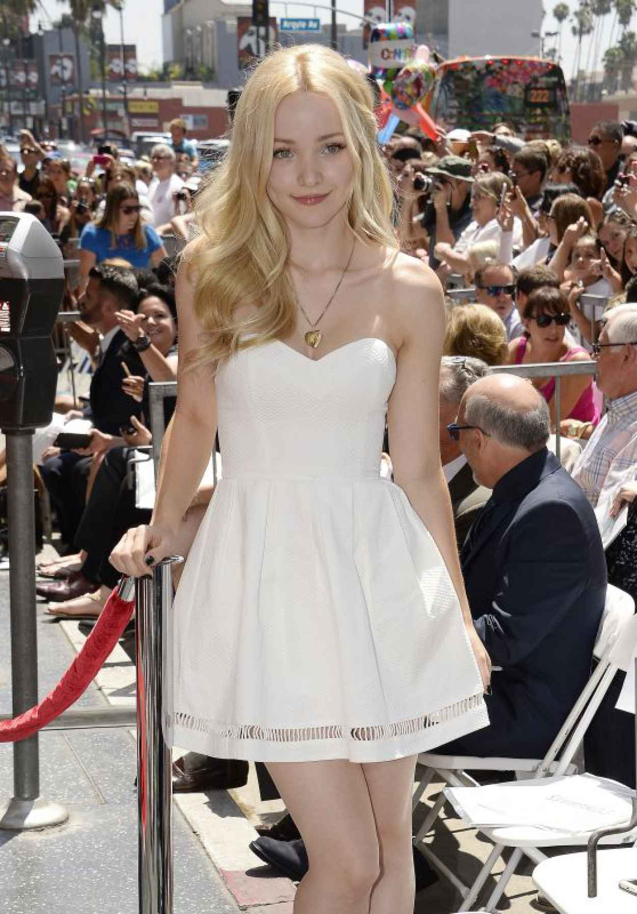 Dove Cameron - Kristin Chenoweth Star on the Hollywood Walk of Fame Ceremony-1